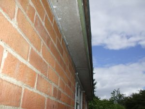 Asbetos in residential house roof soffits