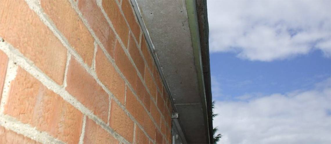 Asbestos Roof Soffits