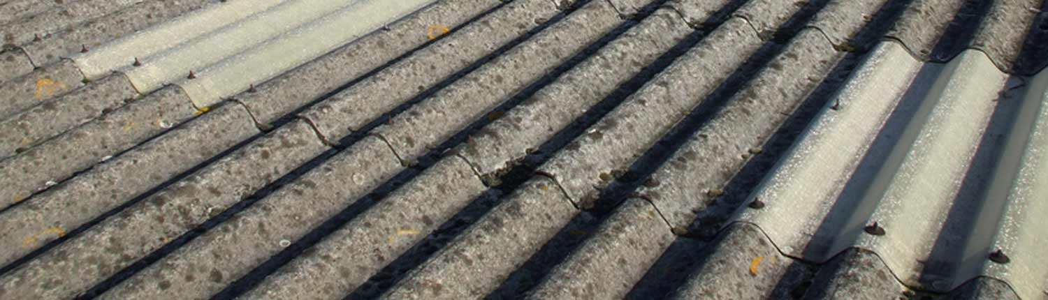 Asbestos cement corrugated garage roof sheets