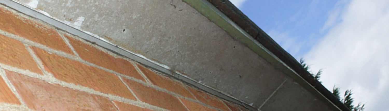 Asbestos soffit boards